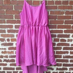 Lane Bryant 6th LN Dress Size 18 Hot Pink Hi Low